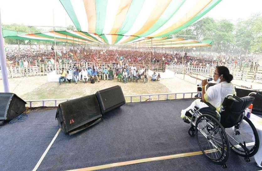 भाजपा को बंगाल में 70 सीटें भी नहीं मिलेंगी: ममता
