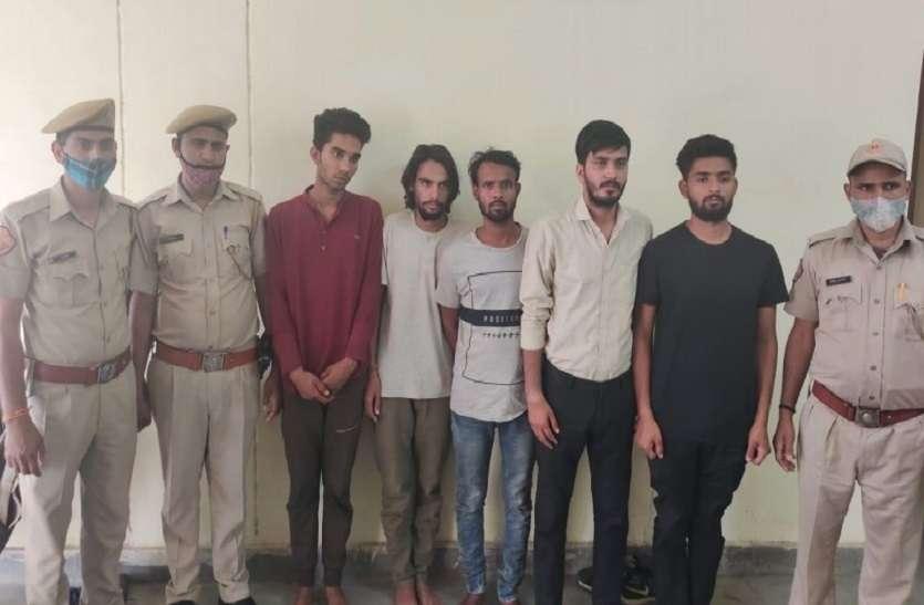 साथी की हत्या कर शव को भरतपुर में नाले में पटका