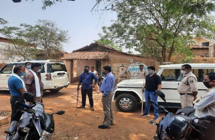 समुदाय और स्थानीय प्रशासन के समन्वित प्रयासों से महासमुंद के दो गांव में संक्रमण थमा