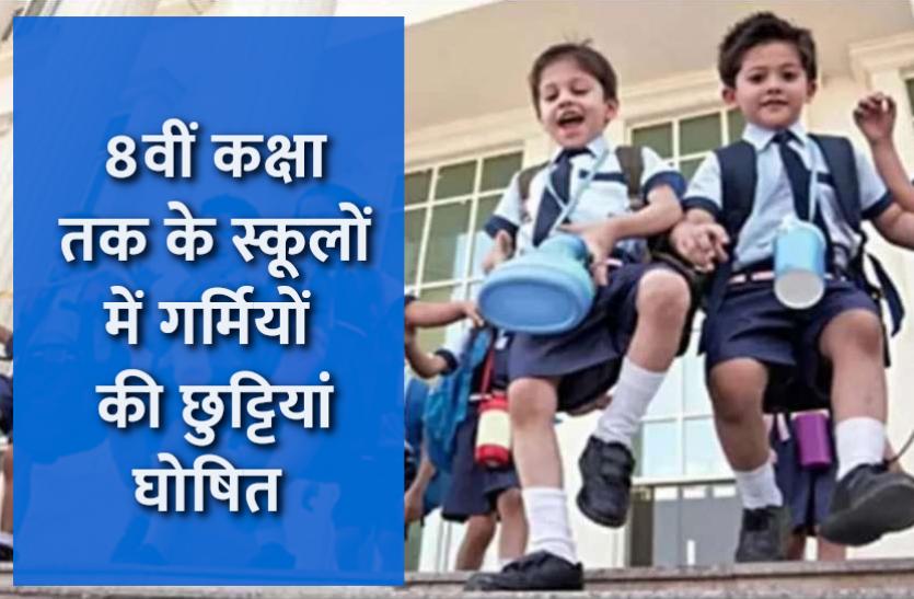 Summer Vacation in MP Schools: मध्यप्रदेश सरकार ने की घोषणा, 8वीं कक्षा तक के बच्चों की 15 अप्रैल से छुट्टियां शुरू