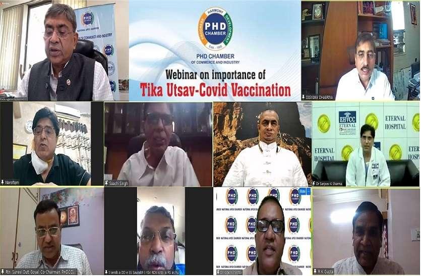 वैक्सीन जीवन बचाने के लिए उपयोगी: डॉ. वीरेंद्र सिंह