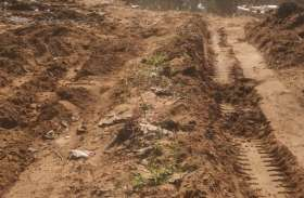 बिना नीलामी के ही नदी से रेत का अवैध उत्खनन, खनिज विभाग मौन