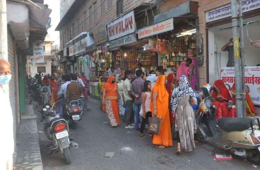 बाड़मेर जिले में आज से शाम 5 बजे बंद होंगे प्रतिष्ठान, शाम 6 बजे से 11 घंटे का नाइट कफ्र्यू