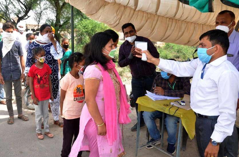 राजस्थान में पहली बार 19 जिलों में 100 से ज्यादा संक्रमित, लगातार चौथे दिन रेकार्ड 33 मौतें