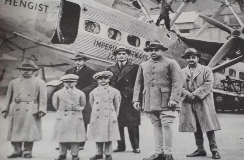 जोधपुर के महाराजा को ़अजमेर के व्यवसायी ने भेंट किया था हवाई जहाज