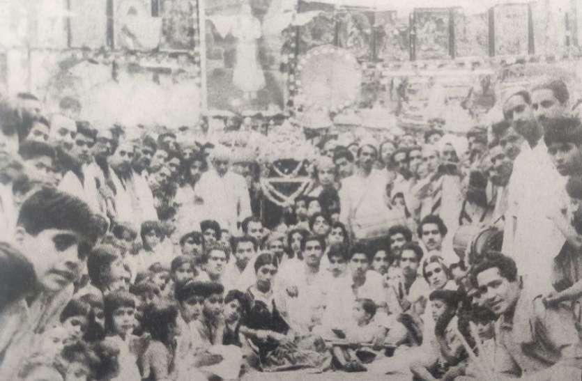 ज़ोधपुर में प्रथम चेटीचंड मेले के लिए मीरपुर खास से लाई गई थी ज्योत