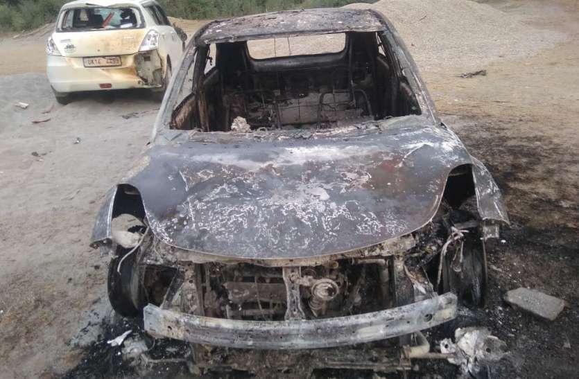 पंचायत चुनाव : मतदान से पहले सहारनपुर में दो प्रत्याशियों के बीच फायरिंग, गाड़ियां फूंकी