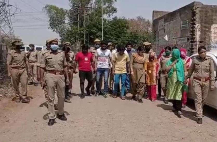 गेस्ट हाउस और होटल में चल रहा था देह व्यापार, पुलिस ने छापा मारकर चार महिलाओं समेत 10 को किया गिरफ्तार