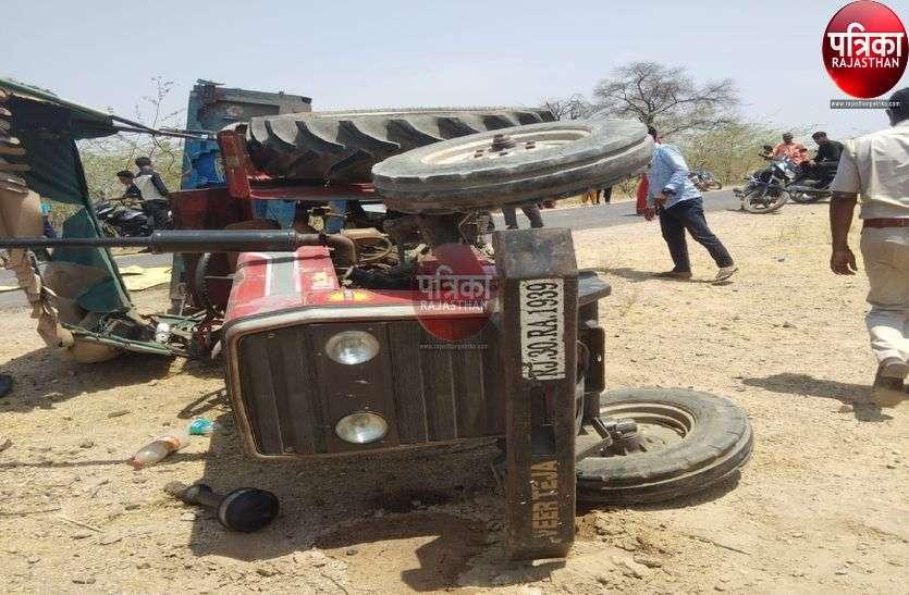 34 लोगों से भरी ट्रैक्टर ट्रोली चार थाना क्षेत्रों से गुजरी, 55 किलोमीटर की दूरी में किसी ने नहीं रोका...