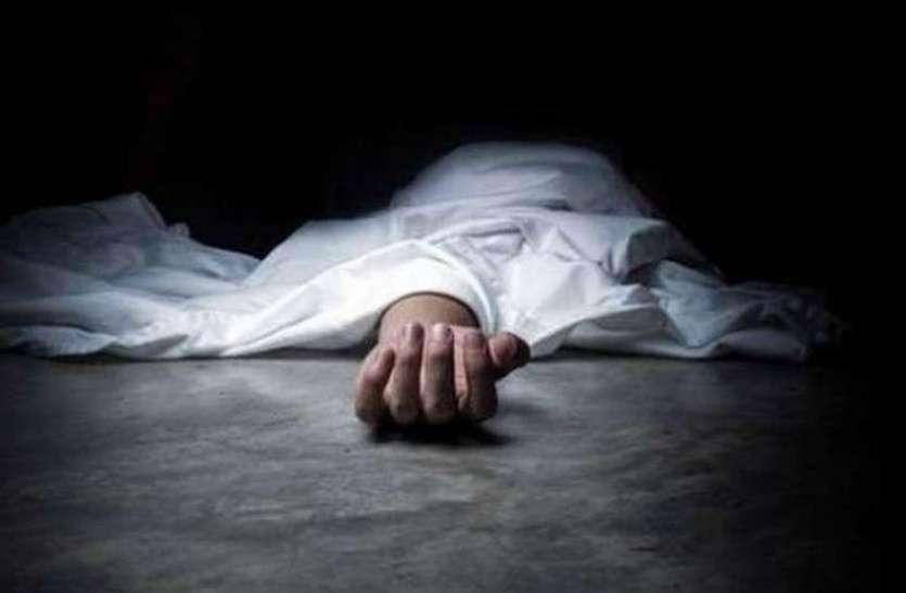 सड़क हादसे में पिता की मौत, तीन बालक गम्भीर घायल