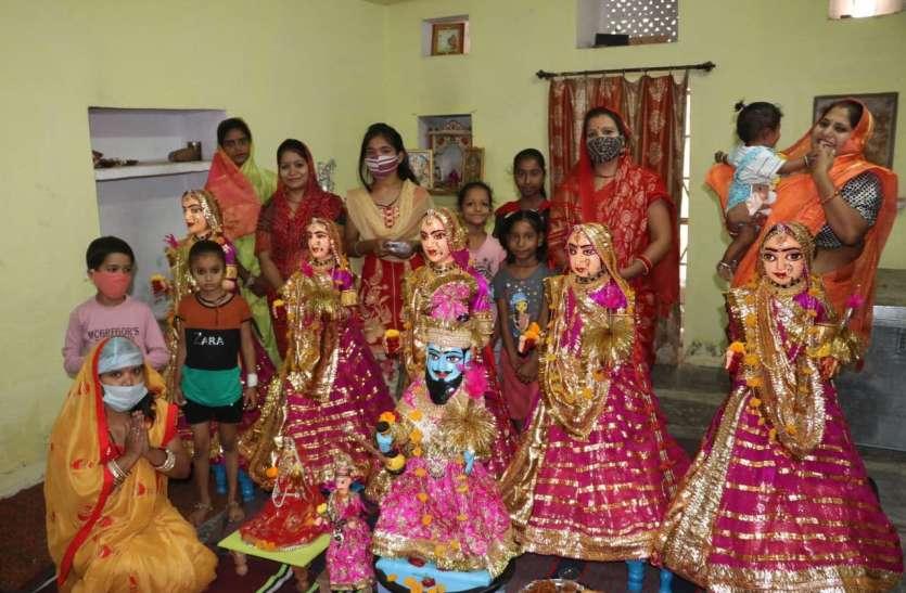 सूना नजर आया उदयपुर का गणगौर घाट, लगातार दूसरे साल घरों, मंदिरों व नोहरों में गूंजे  गीत