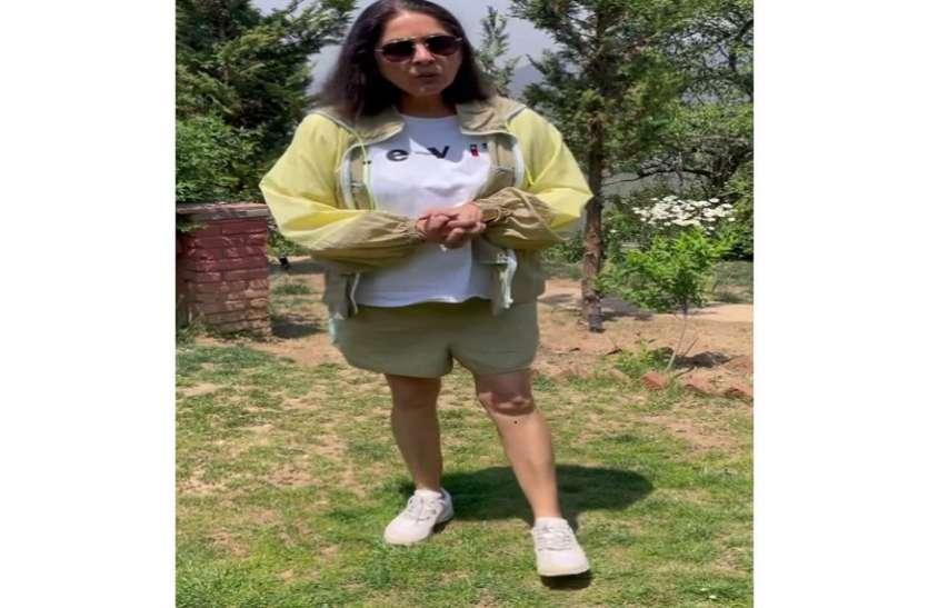 मुंबई में लॉकडाउन लगते ही एक्ट्रेस नीना गुप्ता पहुंची अपने घर मुक्तेश्वर