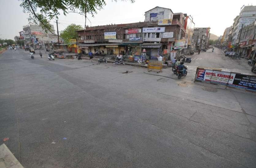 curfew : पूरे दिन भीड़, शाम को पसरा सन्नाटा, बाड़मेर  में बाजार बंद, अब दो दिन बाद खुलेंगे