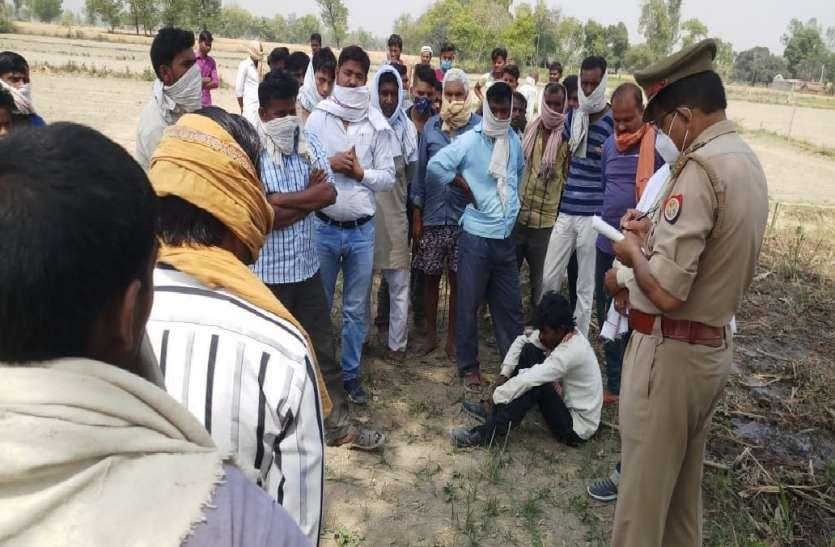 जमीनी विवाद में बुजुर्ग की गला घोटकर बेरहमी से हत्या, गांव के ही चार लोगों पर आरोप