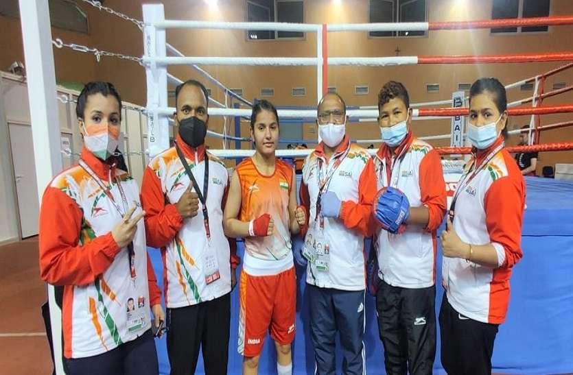 विश्व चैंपियनशिप : तीन बार खेलो इंडिया चैंपियन रही राजस्थान की मुक्केबाज अरुंधति क्वार्टर फाइनल में