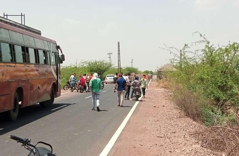 राजस्थान ने बॉर्डर पर लगाई पाबंदी, यात्रियों को लौटाया