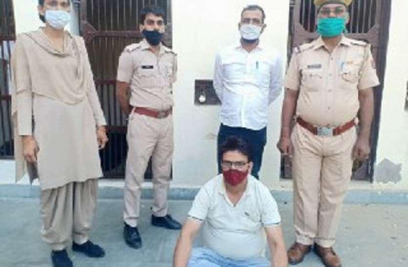 बिहार से गांजे की सप्लाई मंगवाने व बिकवाने वाला मुख्य आरोपी गिरफ्तार