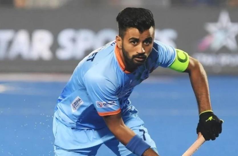 भारतीय पुरुष हॉकी टीम के कप्तान बोले- ओलंपिक मेडल जीतने तक हमारा काम खत्म नहीं होगा