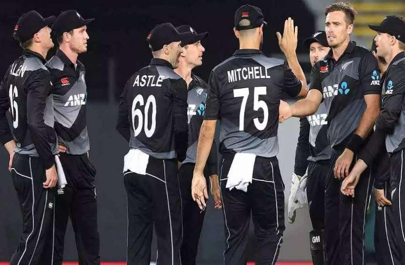 इंग्लैंड दौरे से पहले न्यूजीलैंड के खिलाड़ियों और सपोर्टिंग स्टाफ को कोविड वैक्सीन