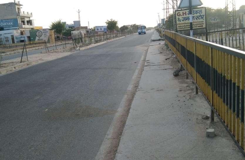 दूसरे दिन भी गांवों के बाजारों में पसरा रहा सन्नाटा, पुलिस रही मुस्तैद
