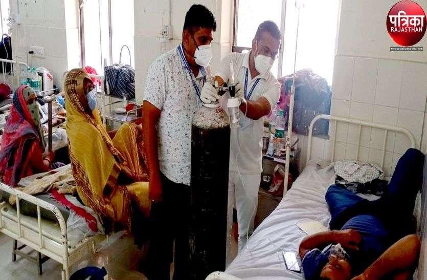कोरोना का कहर : यहां एक साथ पांच मौत, 92 संक्रमित