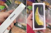 रोचक : ऑनलाइन खरीदे सेब, डिलिवरी में आया आइफोन
