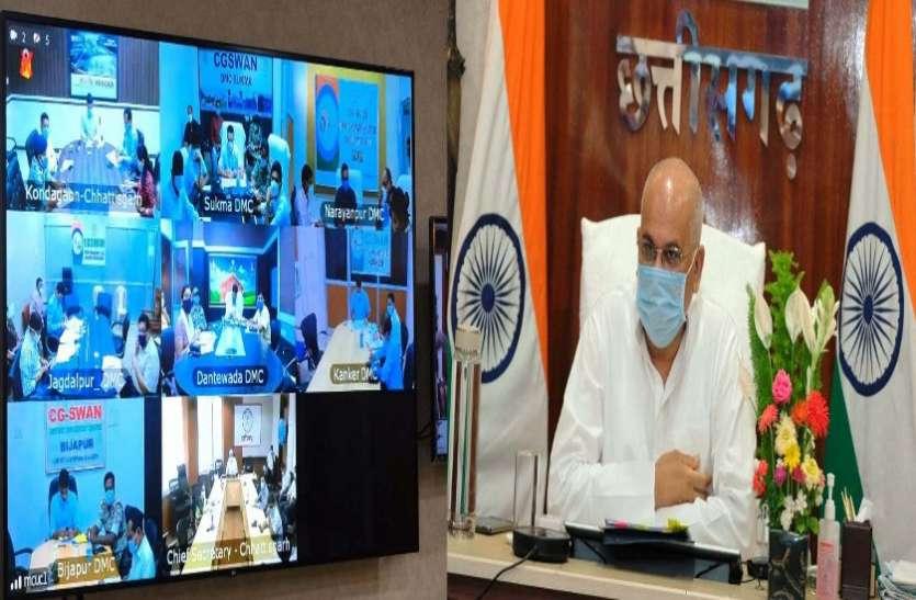बस्तर संभाग में पिछली बार की भांति कोरोना संक्रमण की दर को शून्य प्रतिशत तक लाने का हो लक्ष्य : मुख्यमंत्री
