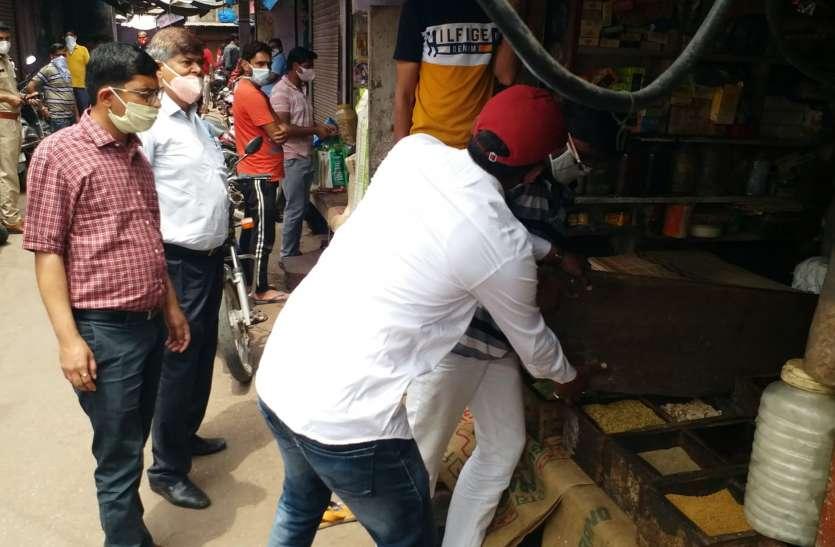 करौली के बाजारों में प्रशासन द्वारा की गई इस कार्रवाई से मच गया हड़कंप
