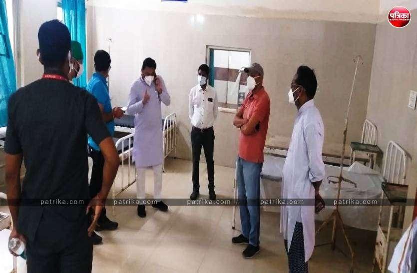सिविल अस्पताल विजयराघवगढ़ के लिए 75 लाख और बरही के लिये 50 लाख की राशि दान