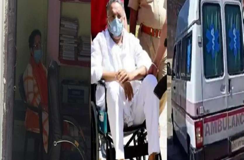 मुख्तार एंबुलेंस मामले में बड़ी कार्रवाई, मऊ से डा. अल्का राय और उनके एक सहयोगी को किया गिरफ्तार