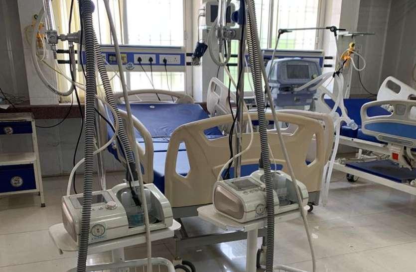 मेडिकल कॉलेज अस्पताल को मिली 2 हाई फ्लो नेजल कैनुला मशीन, कोरोना के क्रिटिकल मरीजों के लिए है कारगर