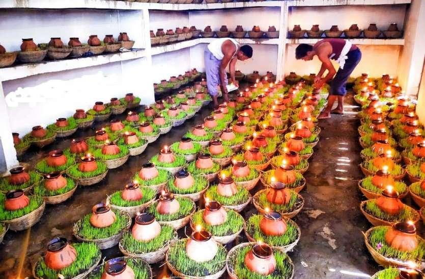नक्खी माता मंदिर में 339 कलश की स्थापना