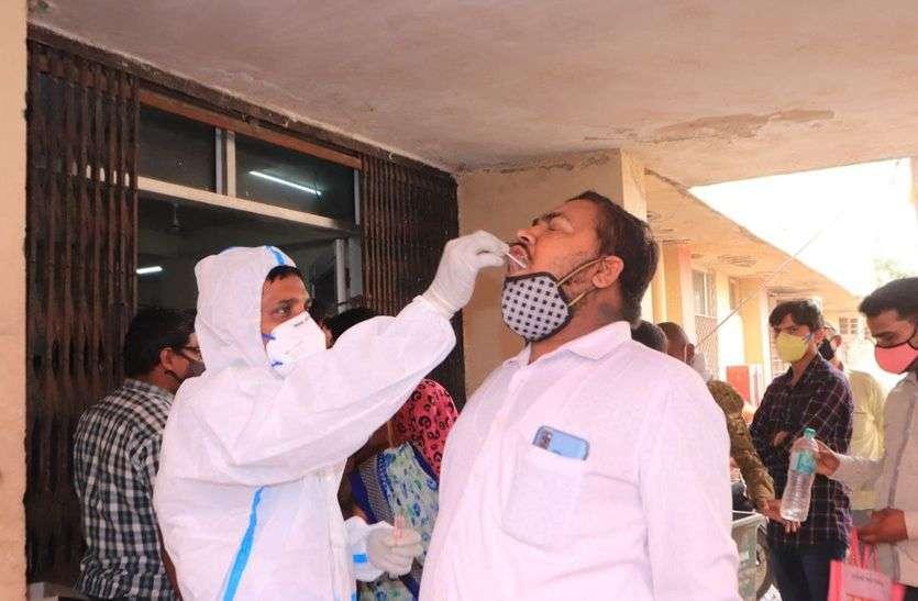 अजमेर जिले में कोरोना संक्रमितों का बढ़ा ग्राफ,मंगलवार को 439 मरीजों की जांच रिपोर्ट आई पॉजिटिव