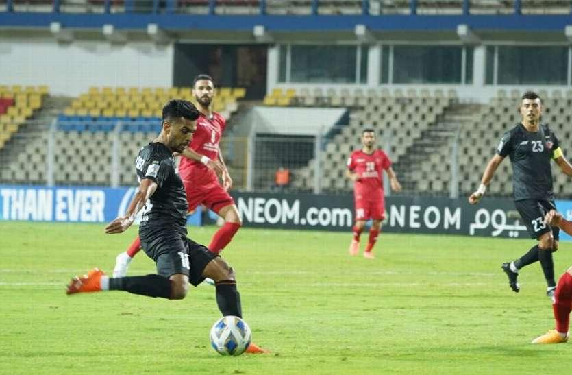 एएफसी चैंपियंस लीग में एफसी गोवा को मिली पहली हार