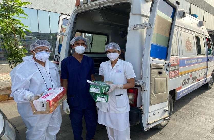 सिविल अस्पताल के बाहर ट्रीटमेंट ऑन व्हील्स शुरू