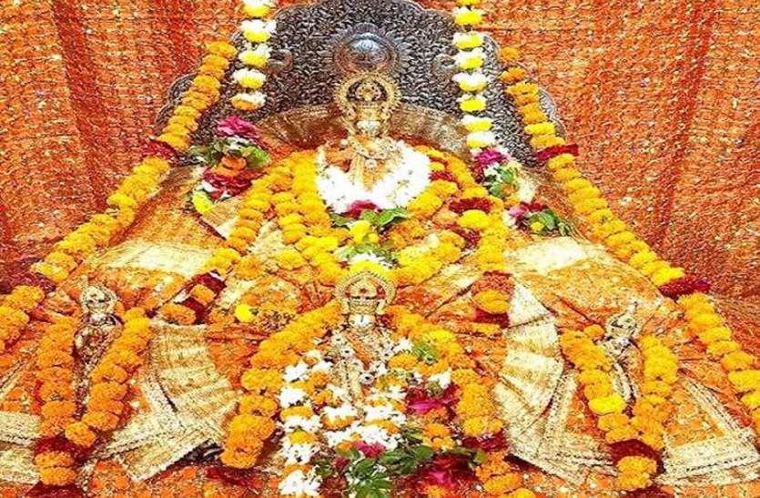 घर-घर जन्मे रामलला, रामनवमी पर मंदिरों के प्रांगण रहे सूने, सोने का मुकुट और नई पोशाक पहनाकर शुरू की पूजा