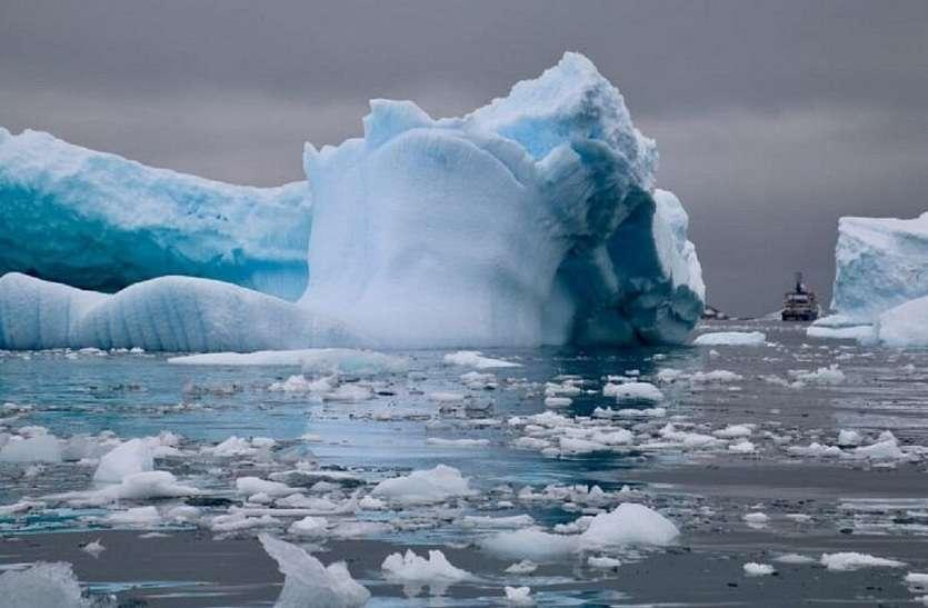 CLIMATE CHANGE : तापमान 4 डिग्री बढ़ा तो पिघल जाएगी अंटार्कटिका की 34 फीसदी बर्फ