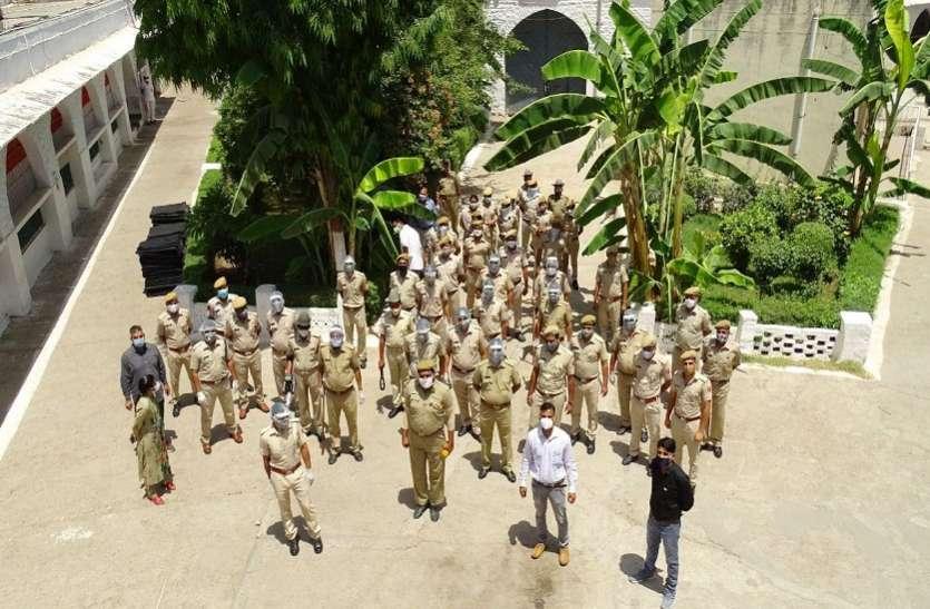 Kota jail...कोटा जेल में दो घंटे चला सर्च अभियान, चप्पे-चप्पे की तलाशी