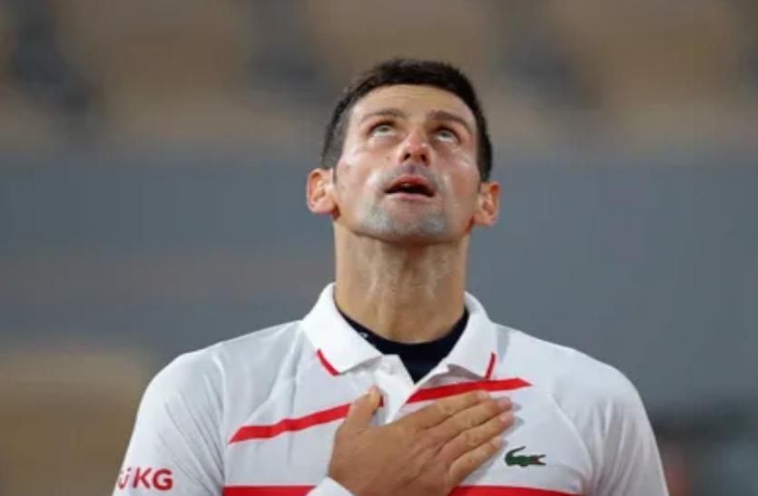 विश्व के नंबर 1 टेनिस खिलाड़ी नोवाक जेकोविच ने जीत के साथ की सर्बिया ओपन की शुरुआत
