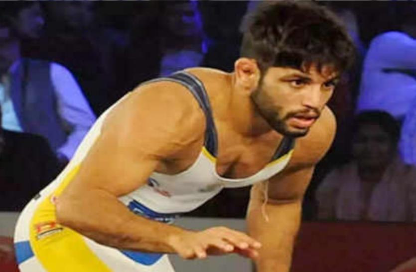 कुश्ती : ओलंपिक क्वालीफायर में अमित धनखड लेंगे संदीप सिंह मान की जगह