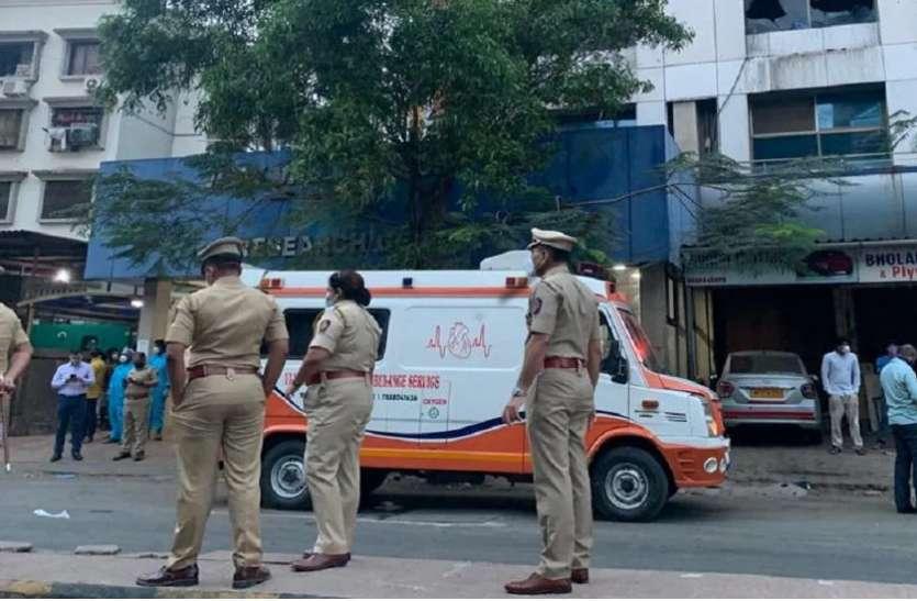 मुंबई : अस्पताल के ICU में लगी भीषण आग, 13 मरीजों की मौत