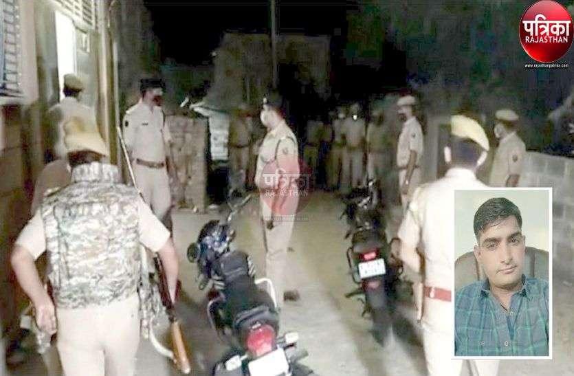 बाड़मेर में छिपा था पाली के सांडेराव थानाधिकारी पर हमले का आरोपी तस्कर, पुलिस की मुठभेड़ में ढेर