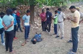 एक साथ कुएं में कूदे, किशोर डूबा, किशोर के हाथ लगी रस्सी ने बचा लिया