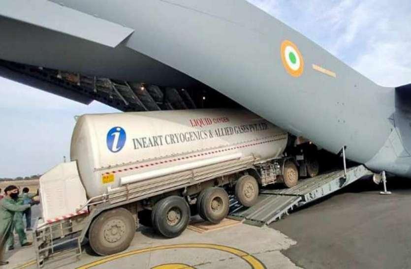 सिंगापुर से ऑक्सीजन टैंकर मंगा रही है भारत सरकार, जर्मनी और UAE से भी मंगाने का फैसला