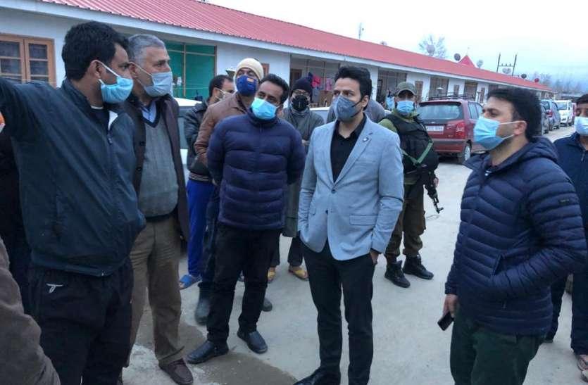 जम्मू-कश्मीर: कुलगाम के डीसी ने तैयारियों का जायजा लिया, कोरोना देखभाल केंद्रों में 1035 बेड बढ़ाए