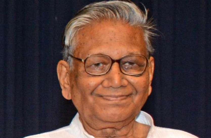 उड़िया और अंग्रेजी के प्रसिद्ध लेखक मनोज दास का निधन, पीएम मोदी ने जताया शोक