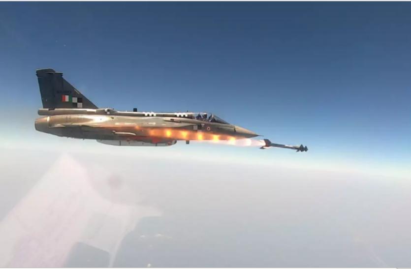 DRDO ने LCA तेजस से पाइथन-5 एयर-टू-एयर मिसाइल का पहला परीक्षण किया