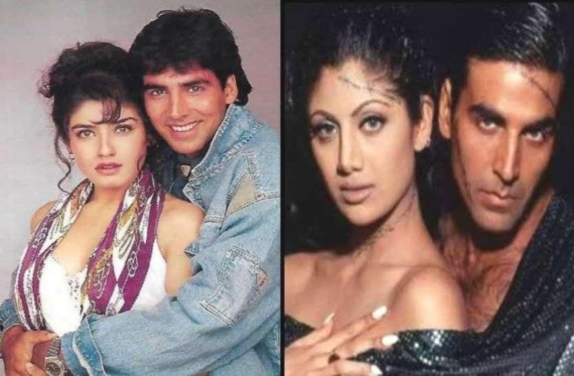 अक्षय कुमार ने रवीना टंडन से की थी सगाई, शिल्पा शेट्टी ने यूज करने का लगाया था आरोप