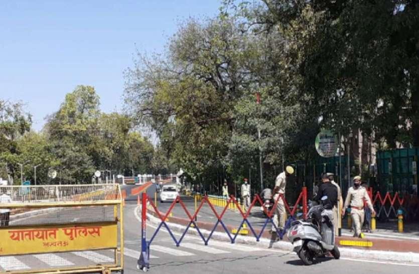 दिल्ली में लॉकडाउन से शहर के उद्योग को एक बड़ा झटका लगा
