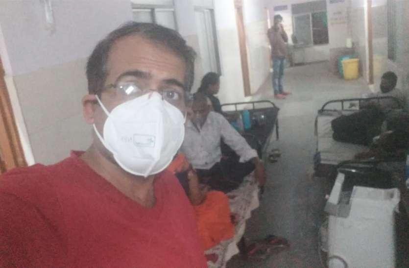 इस  डॉक्टर के नवाचार से दूर हुई ऑक्सीजन की समस्या एक साथ दो मरीजों को दे रहे प्राणवायु